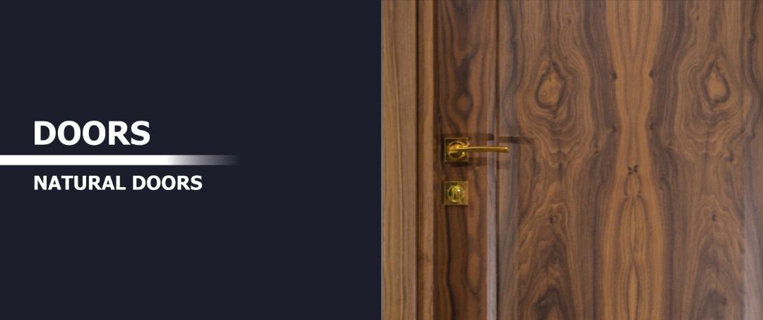 درب های روکش چوب